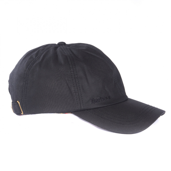 Barbour Prestbury Sports Wax Cap Black