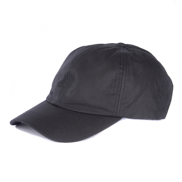 Barbour Prestbury Sports Wax Cap Black
