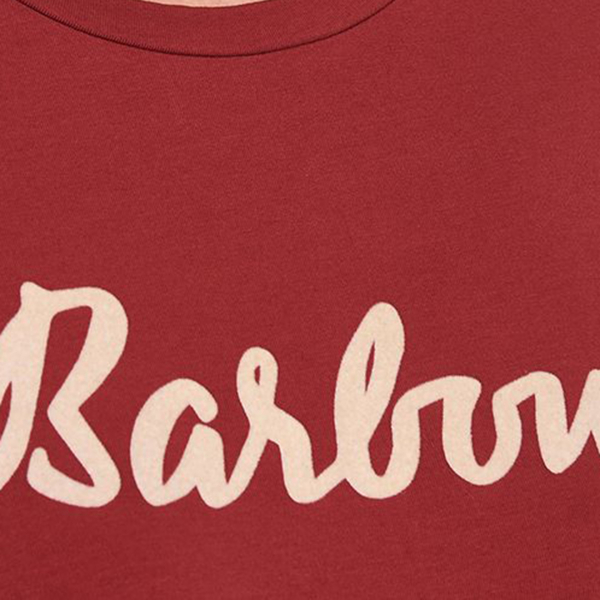 Barbour Rebecca L/S Womens T-Shirt Burnt Red