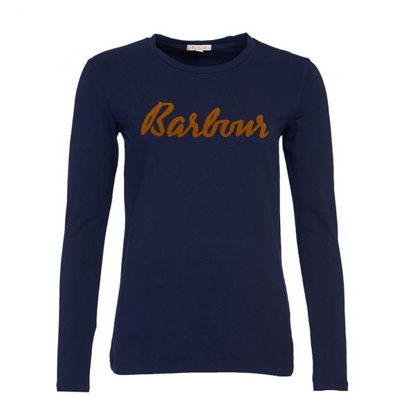 Barbour Rebecca L/S Womens T-Shirt Navy