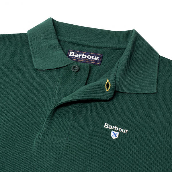 Barbour Sports Polo Seaweed