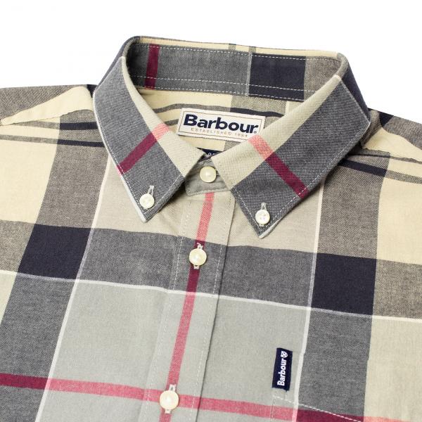 Barbour Tailored Fit Tartan 5 Shirt Dress Tartan