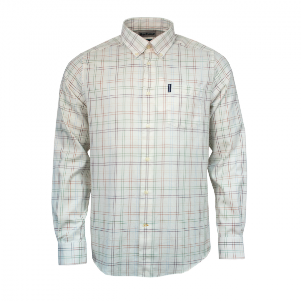 Barbour Tailored Fit Tattersall 20 Shirt Brown