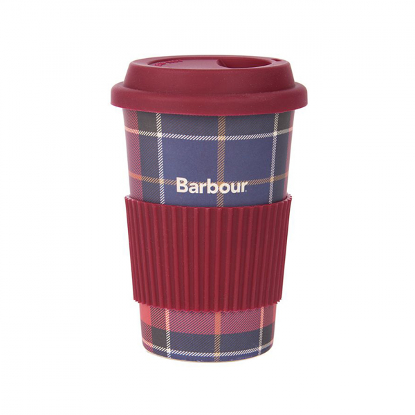 Barbour Tar Travel Mug Red/Navy