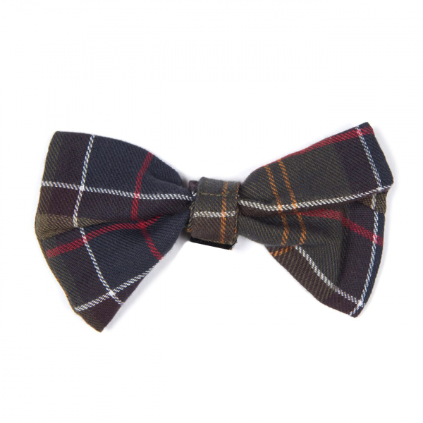 Barbour Tartan Dog Bow Tie Classic Tartan