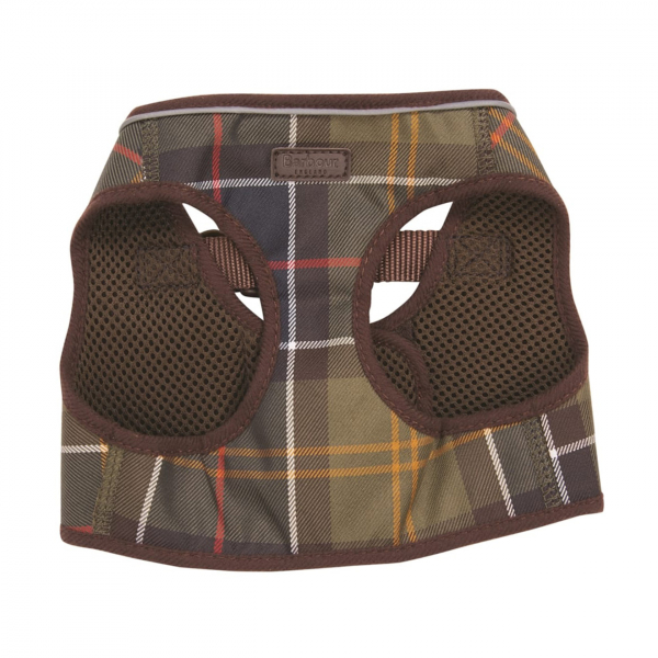 Barbour Tartan Step-In Dog Harness Classic Tartan
