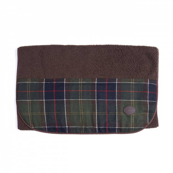 Barbour Wool Touch Blanket Classic Tartan
