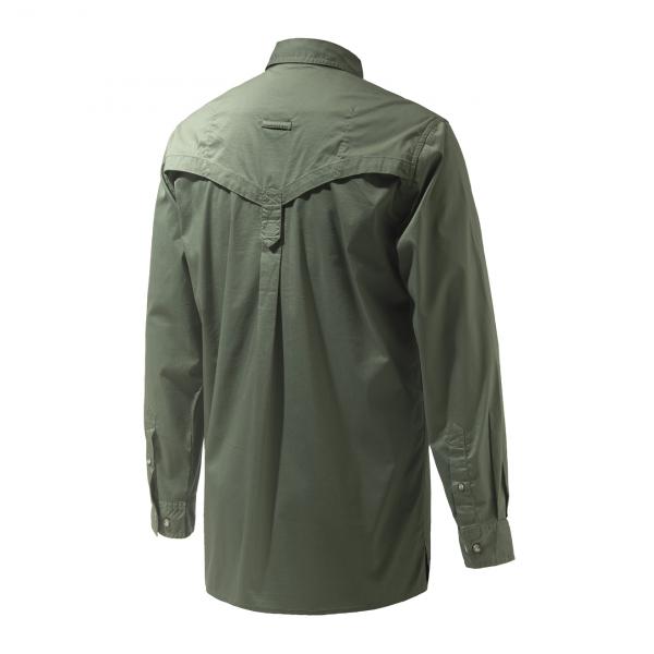 Beretta Selour L/S Sport Shirt Green