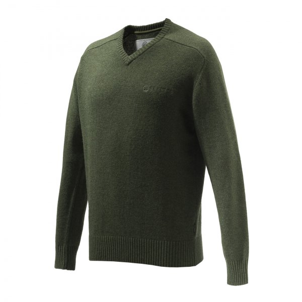 Beretta Somerset V-Neck Sweater Green