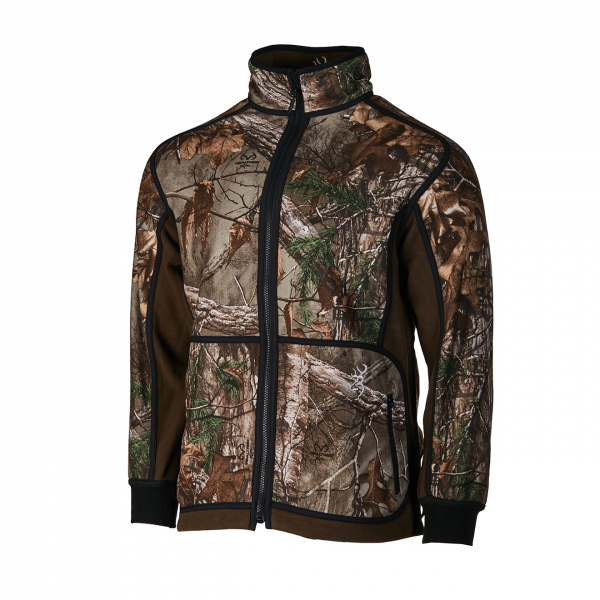Browning Powerfleece Reversible Zippin Jacket RTXTR Green