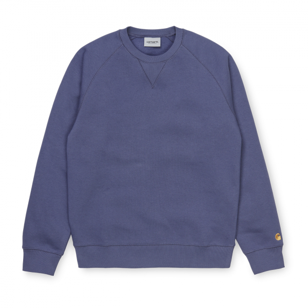 Carhartt Chase Sweat Cold Viola / Gold