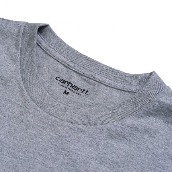 Carhartt Chase T-Shirt Grey Heather/Gold