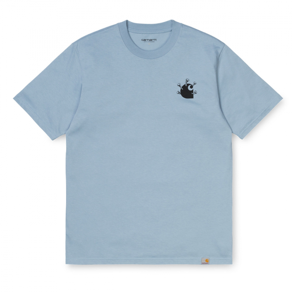 Carhartt Nails T-Shirt Frosted Blue / Black