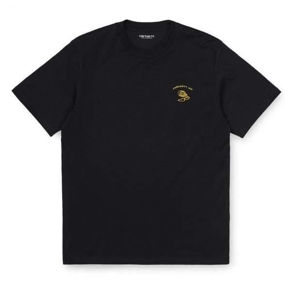Carhartt Reverse Midas T-Shirt Black / Colza