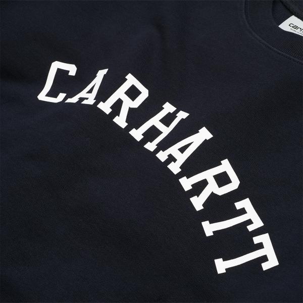 Carhartt University Sweat Dark Navy / White