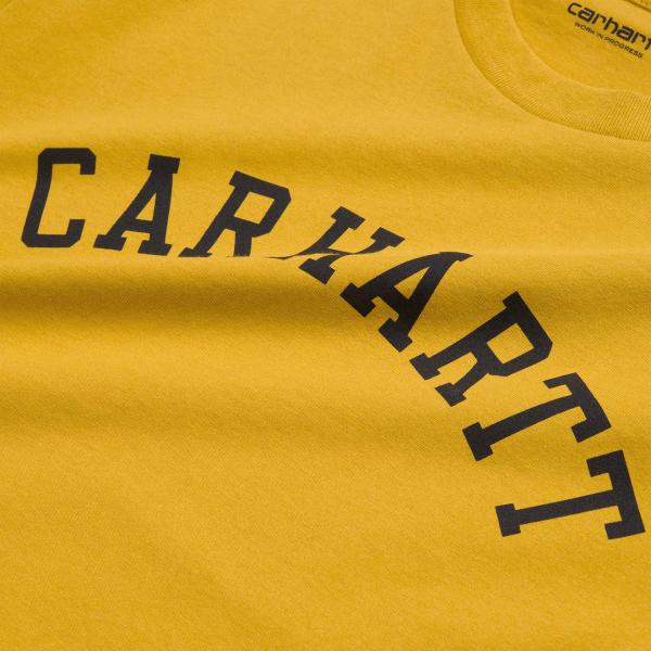 Carhartt University T-Shirt Colza/Black