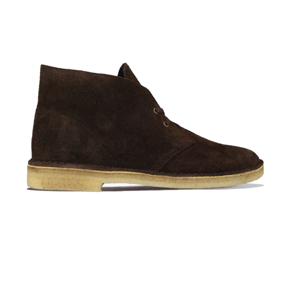 Clarks Originals Mens Desert Boot Chocolate Suede