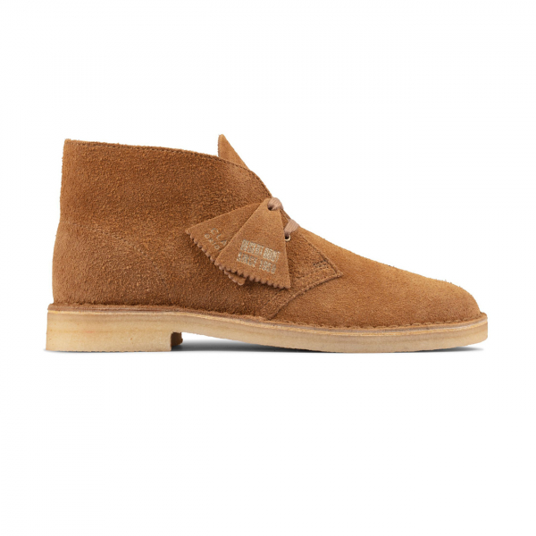 Clarks Originals Mens Desert Boot Nutmeg Suede