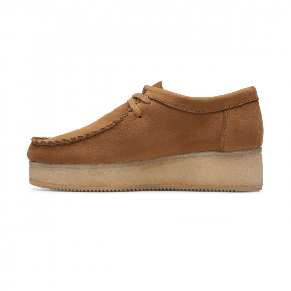 Clarks Originals Womens Wallacraft Lo Shoes Oak Nubuck