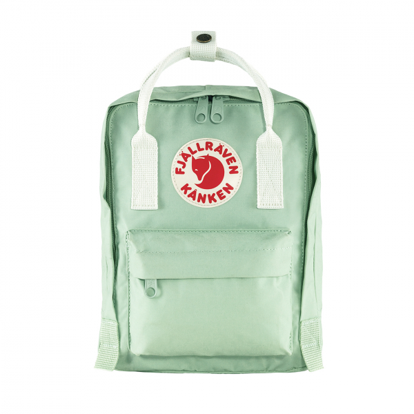 Fjallraven Kanken Mini Backpack Mint Green / Cool White