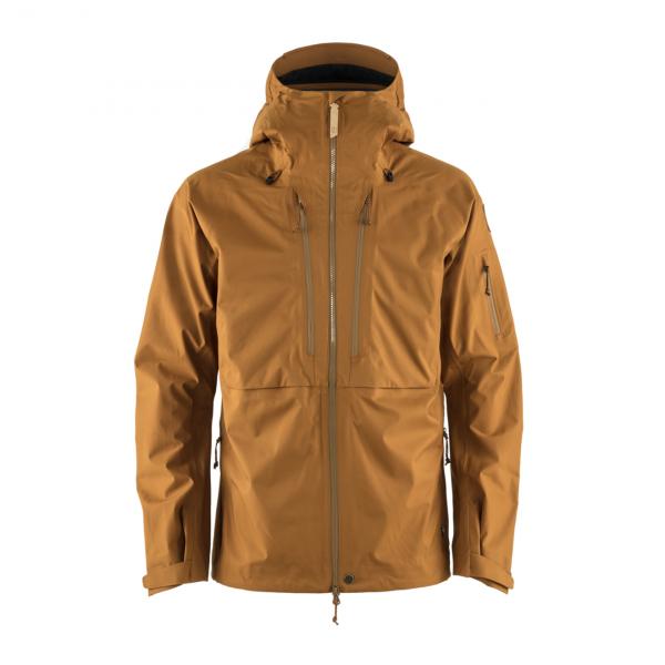 Fjallraven Keb Eco Shell Jacket Chestnut