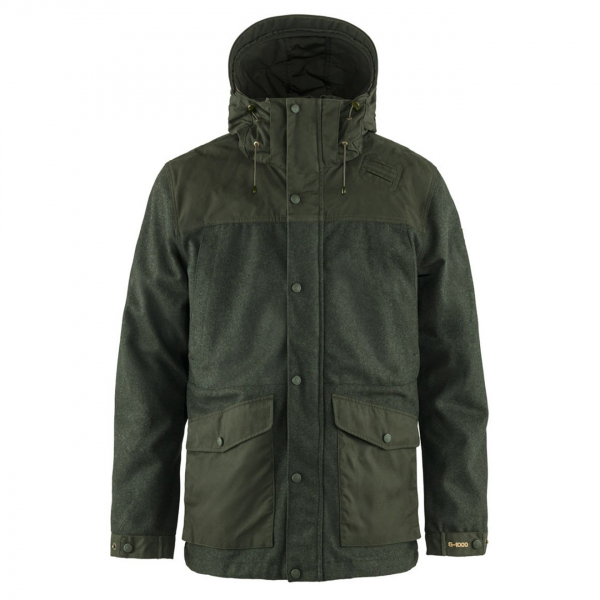 Fjallraven Varmland Wool Jacket Deep Forest