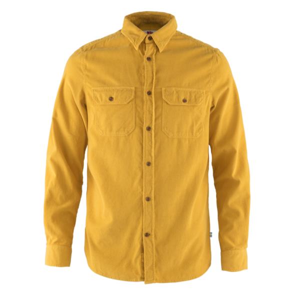 Fjallraven Ovik Cord Shirt Ochre