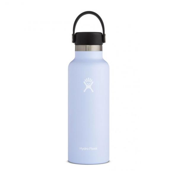 Hydro Flask 18oz Standard Mouth Bottle Fog