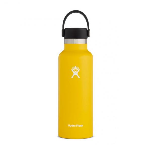 Hydro Flask 18oz Standard Mouth Bottle Sunflower