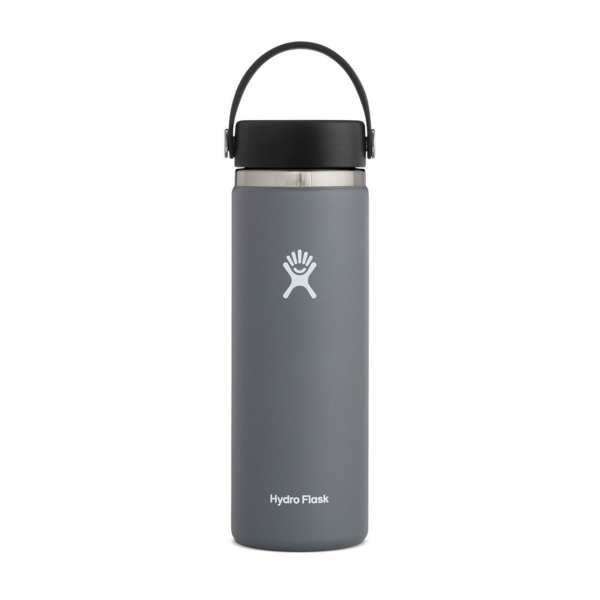 Hydro Flask 20oz Wide Mouth Bottle Stone