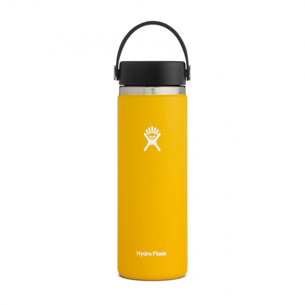 Hydro Flask 20oz Wide Mouth Bottle Sunflower