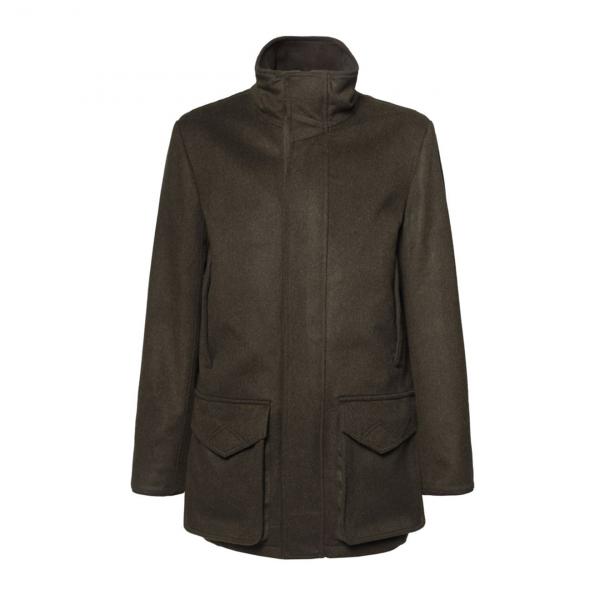 James Purdey Loden Field Coat Green