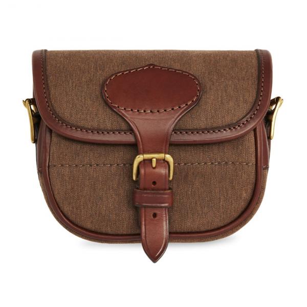 James Purdey Nettle Cotton Canvas Cartridge Bag 50c Walnut
