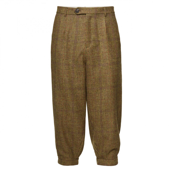 James Purdey Single Pleat Tweed Breeks Stuart