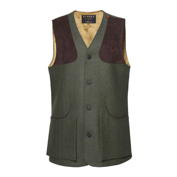 James Purdey Tweed Shooting Vest Glenwherry