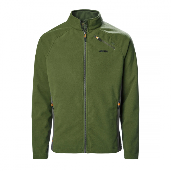 Musto HTX Full Zip Fleece Dark Moss