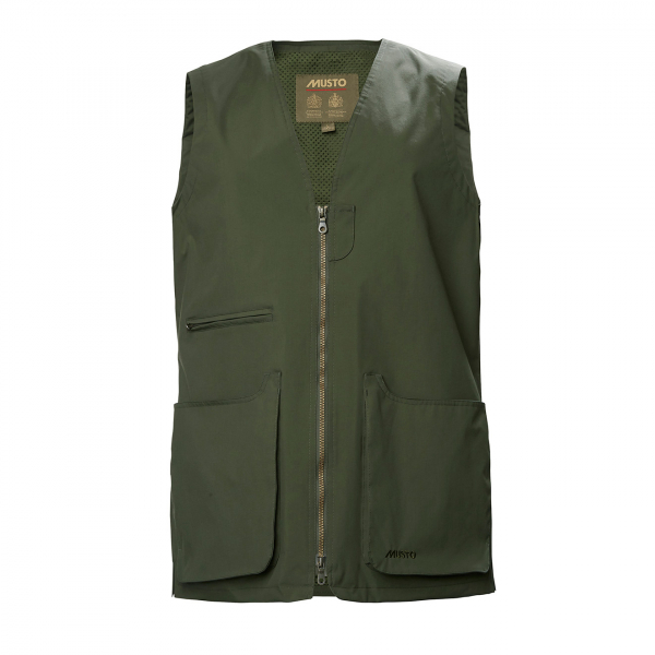 Musto HTX Retrievers Vest Dark Moss
