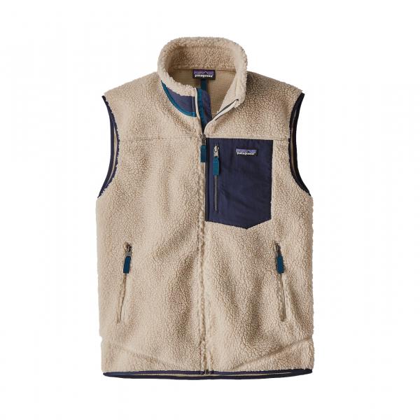 Patagonia Classic Retro-X Fleece Vest Natural