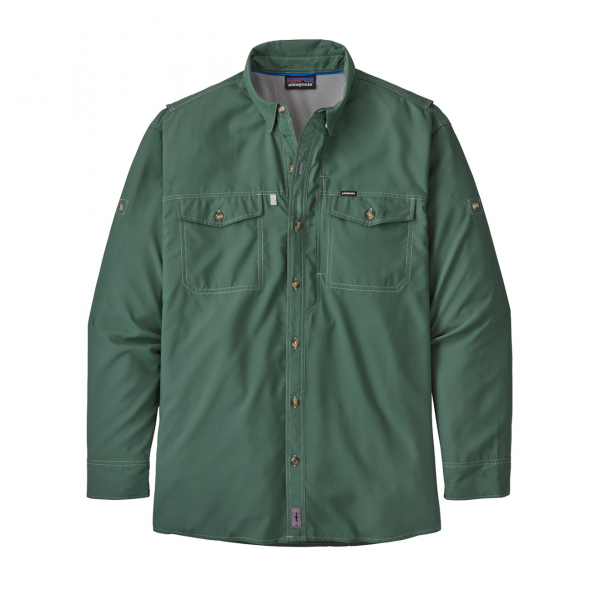 Patagonia L/S Sol Patrol II Shirt Regen Green