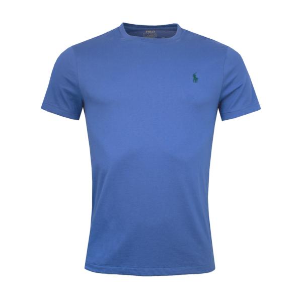 Polo Ralph Lauren Custom Slim Fit T-Shirt Royal Blue