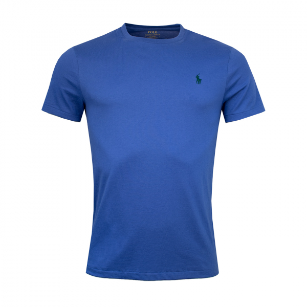 Polo Ralph Lauren Custom Slim Fit T-Shirt Royal Blue