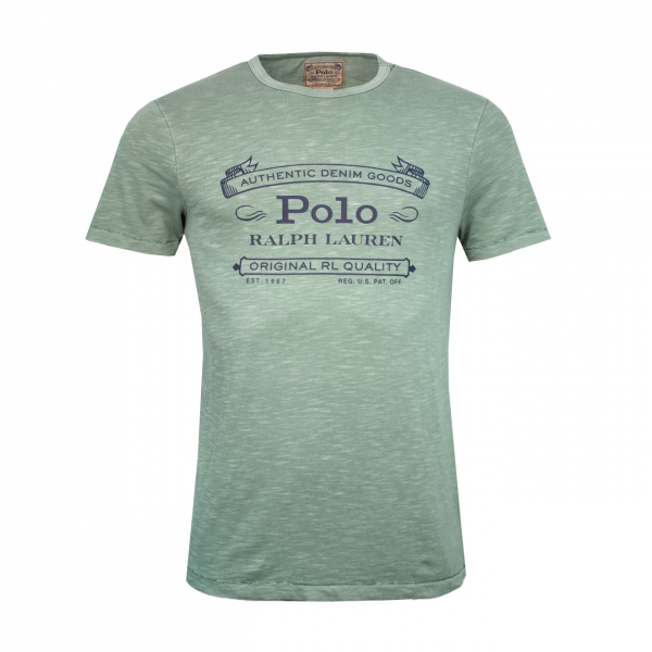 Polo Ralph Lauren Logo Washed T-Shirt Pistachio