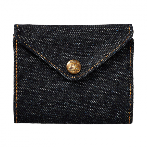 RRL by Ralph Lauren Indigo Denim Billfold Wallet