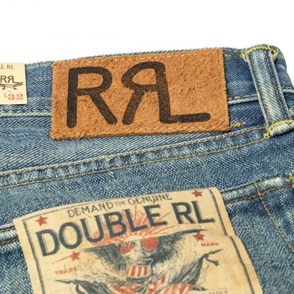 RRL by Ralph Lauren Slim Fit Selvedge Jean Ridgeway Wash