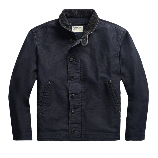 RRL by Ralph Lauren Bower Deck Jacket Navy