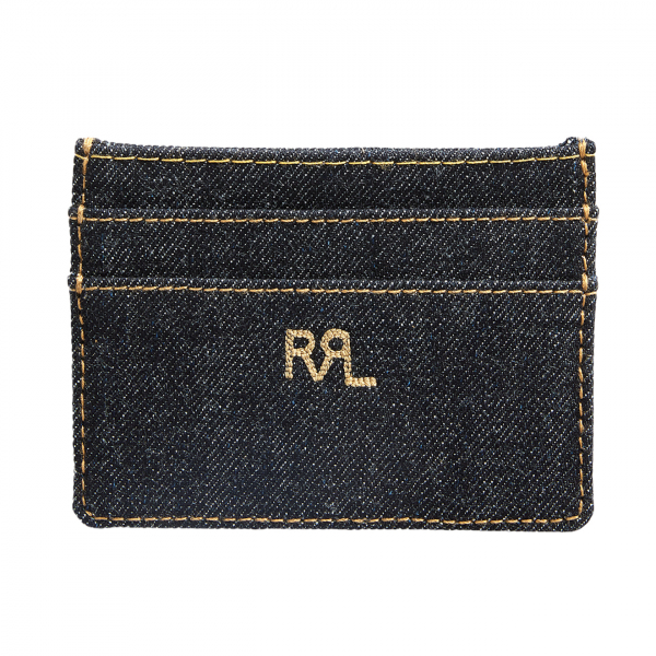 RRL by Ralph Lauren Indigo Denim Cardholder