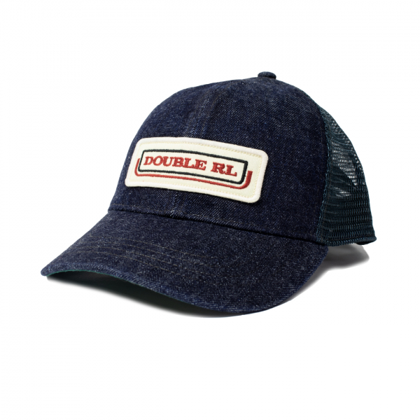 RRL by Ralph Lauren Denim Mesh Trucker Cap Indigo