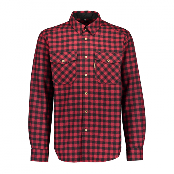 Sasta Alaska Check L/S Shirt True Red
