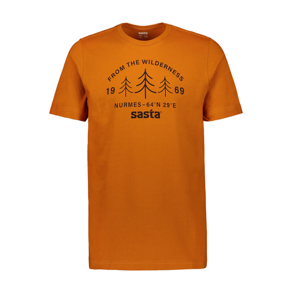 Sasta Wilderness S/S T-Shirt Orange