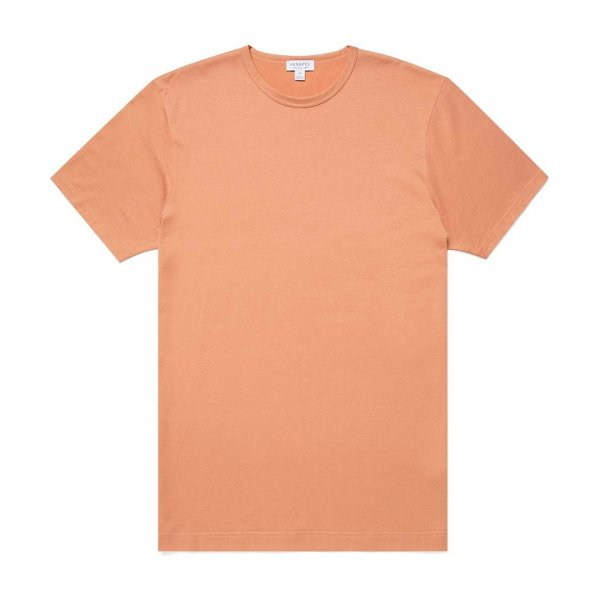 Sunspel Classic Crew Neck T-Shirt Clay